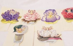 Gorgeous Blooming Fary Greeting Cards